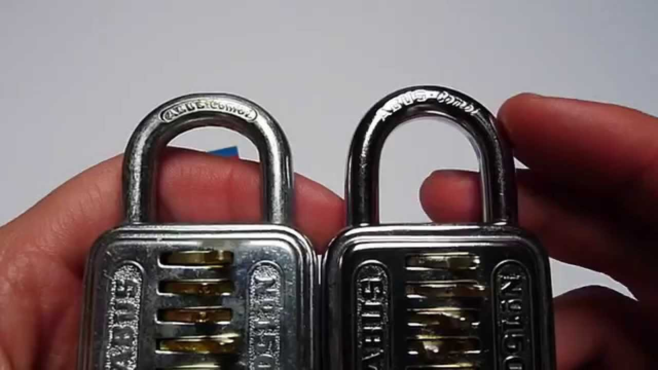 abus padlock how to change code