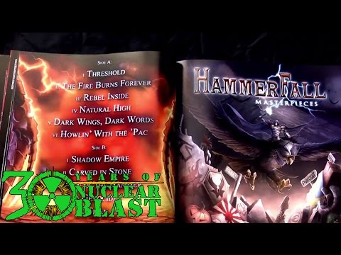 HAMMERFALL - Unboxing 'The Vinyl Collection'