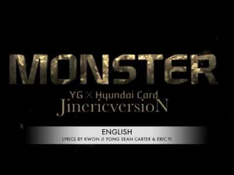 (English Version) Big Bang - Monster by Eric Yi (이진영)