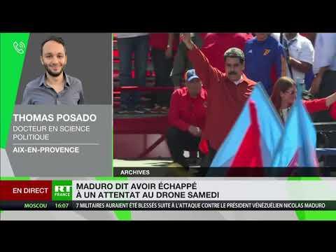 Attentat contre Maduro : «La préparation de cet attentat n'est pas d'un très haut niveau»