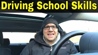 Top 5 Skills You Learn In Driving School