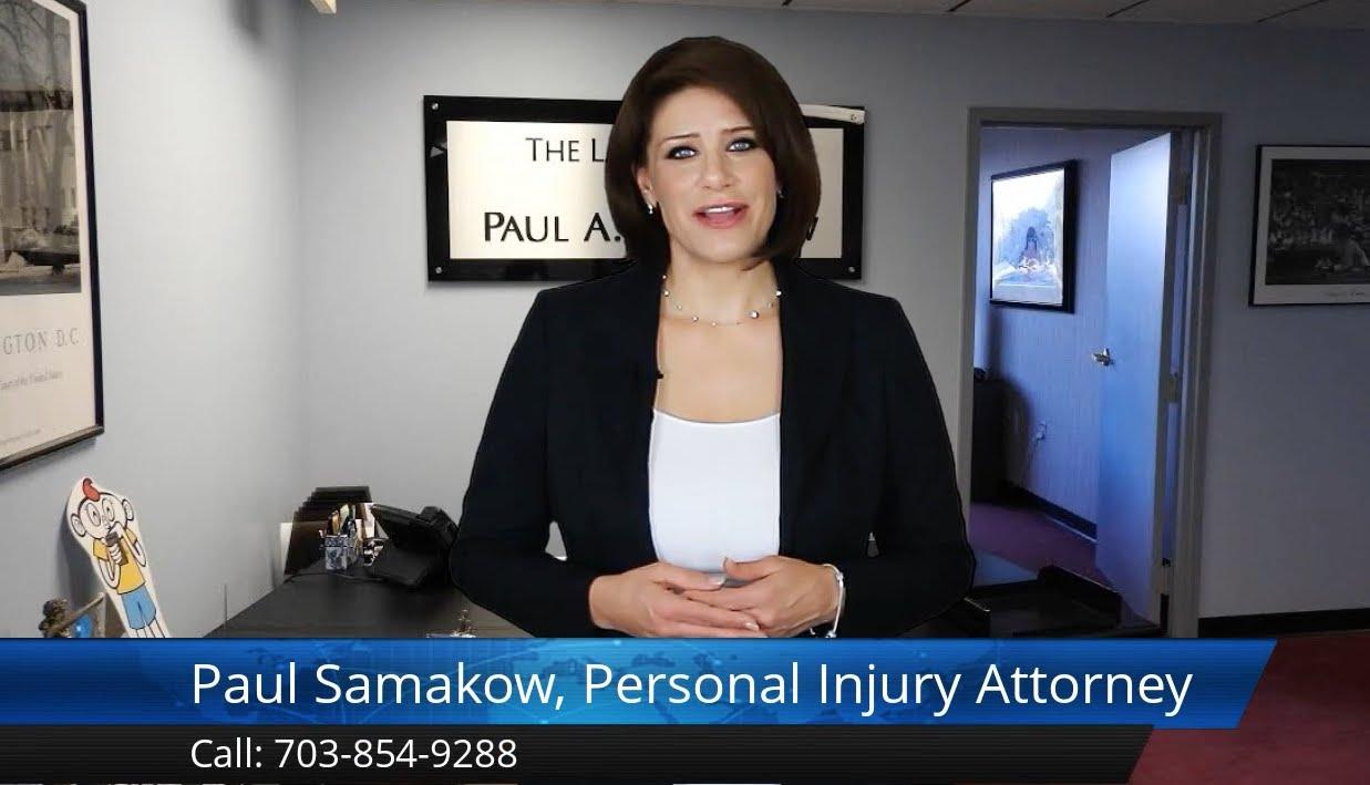 Fairfax Va Personal Injury Attorney Paul Samakow Reviews Fairfax Va Car Accident Lawyer