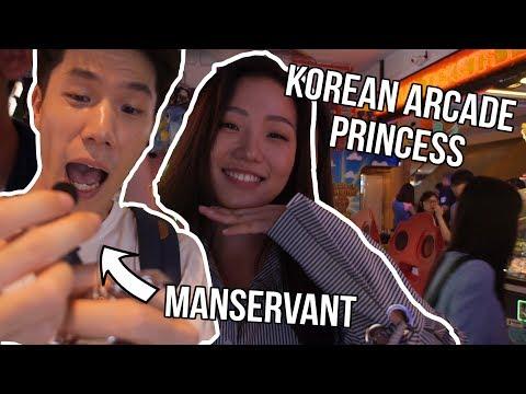 Arcade with my Korean Friends - Arcade Ninja (CowPlayCowMoo)