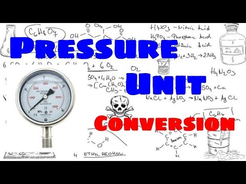 Pressure Units and Pressure Unit Conversion Explained