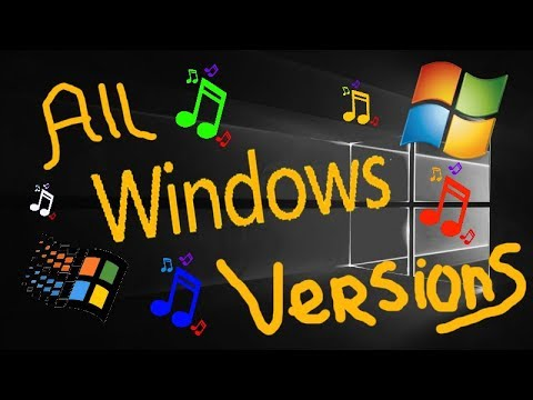 ALL MICROSOFT WINDOWS VERSIONS (1985-2018)