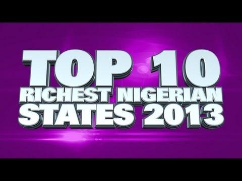 Top 10 Richest States In Nigeria 2013
