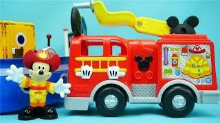 米奇妙妙屋 米奇的消防车 迪士尼 玩具 米老鼠