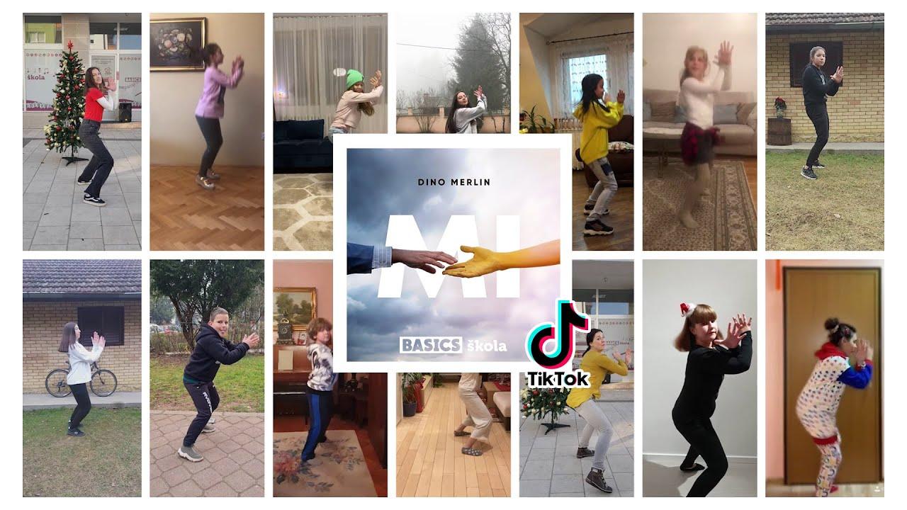 "TikTok Challenge by DINO MERLIN // ""Mi"" & BASICS škola"