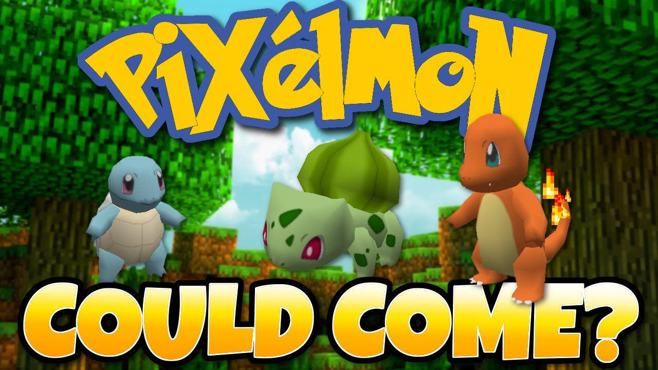 Minecraft Pixelmon Coming In Future Update? Pokemon Mod -Nintendo Switch &  Wii U Edition