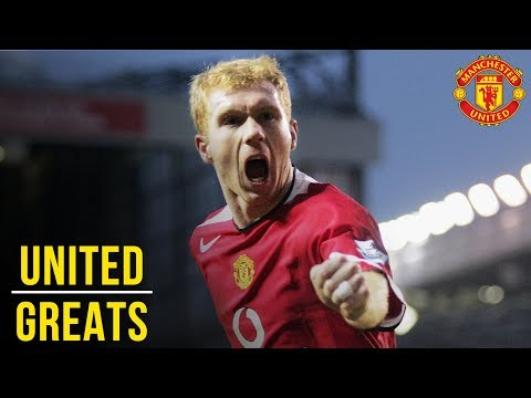 Paul Scholes - Manchester United Greats