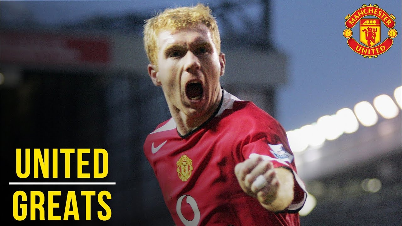 Download Paul Scholes | Manchester United Greats
