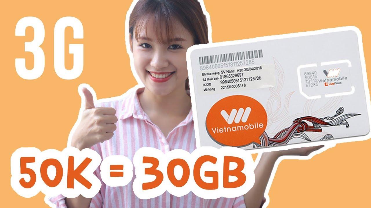 Chỉ 50K được tận 30GB internet!!!