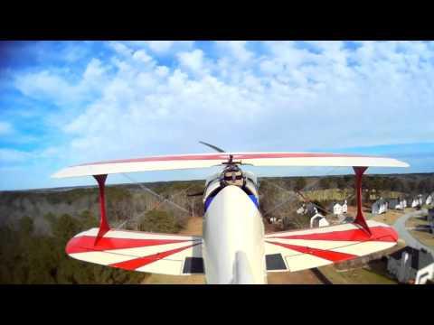 12th Pitts Flight; raw video