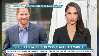 Stilul Kate Middleton versus Meghan Markle! Tinerele