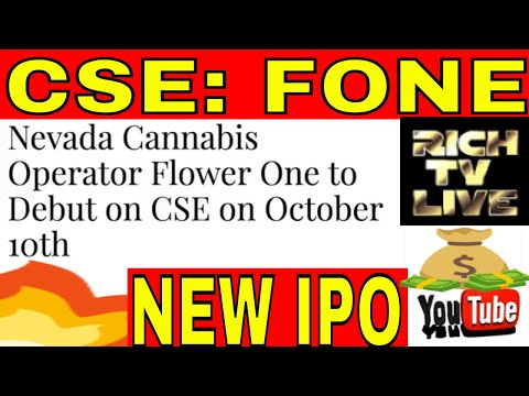 NEW IPO: Flower One Holdings Inc. (CSE: FONE)