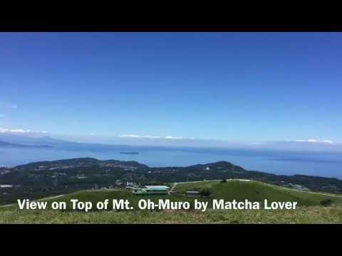Mount Oh-Muro in Izu, Shizuoka Prefecture, Japan
