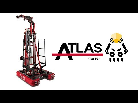 """Atlas"" - FRC 2018 Power Up Robot Unveil Video - Team 2471"