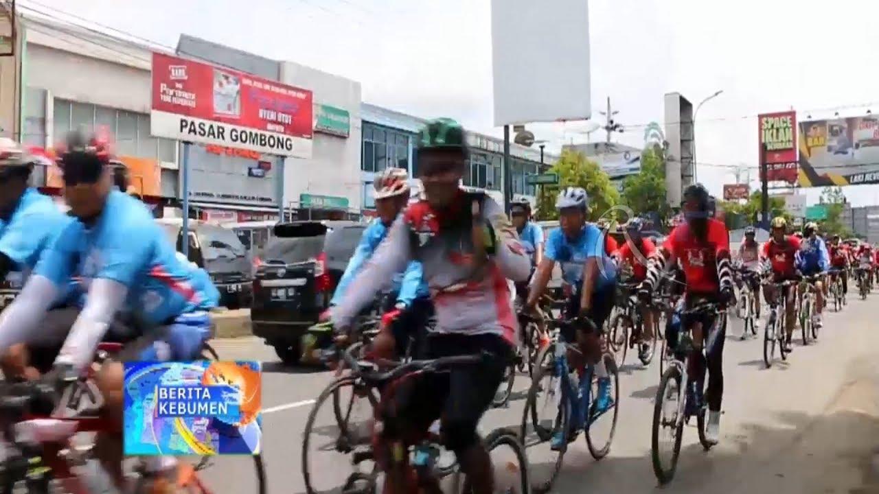 Tour De Java Brimob Sampai Di Kebumen Ratih Tv Kebumen Youtube