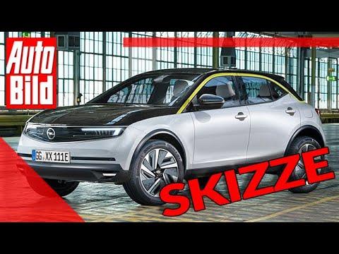 Opel Mokka 2020 Auto Neuvorstellung Skizze Suv Elektro
