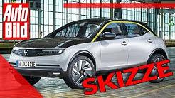 Opel Mokka (2020): Auto - Neuvorstellung - Skizze - SUV - Elektro