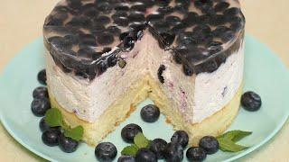 Самый лучший летний торт с творожным кремом Ягодный чизкейк идеальный десерт