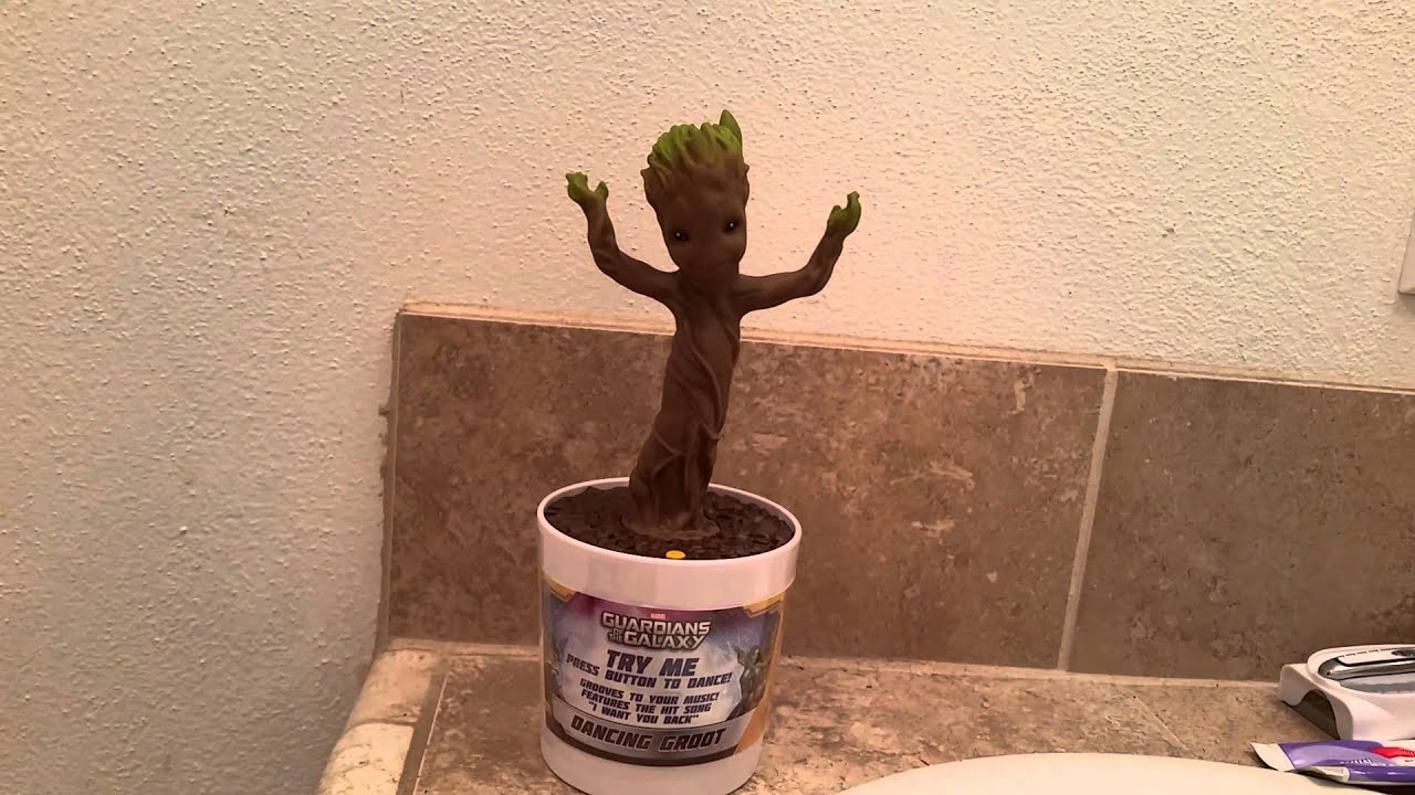 Official Dancing Groot Toy Youtube