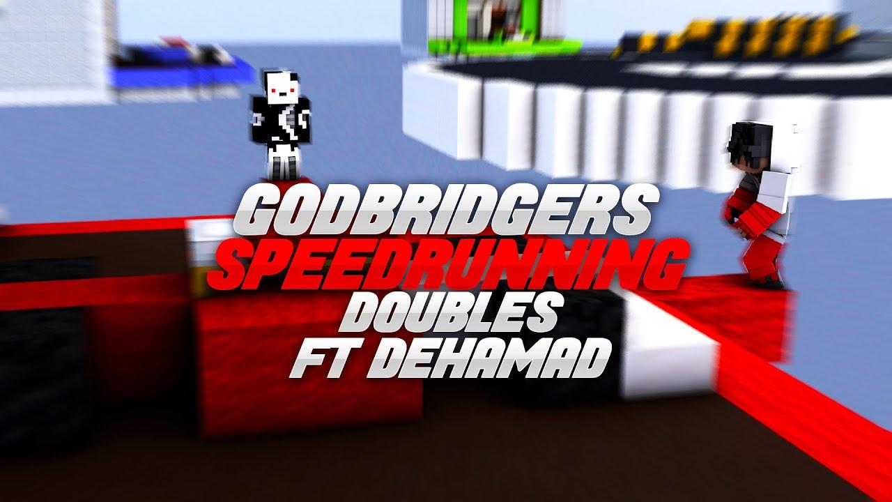 2 Godbridgers Speed Running Bedwars Doubles (ft. Dehamad)
