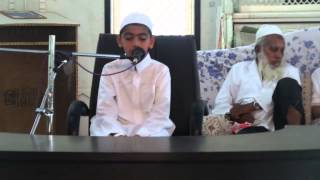 27th Jalsa ofJamia Akkalkuwa : Recitation of Holy Quran