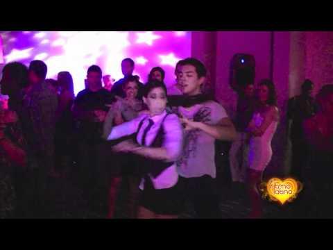 Anthony Umina & Marissa Johnson social dancing at Sexy sensual Festival, London 2009