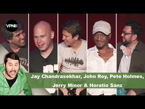 Jay Chandrasekhar, John Roy, Pete Holmes, Jerry Minor, & Horatio Sanz  Getting Doug with High