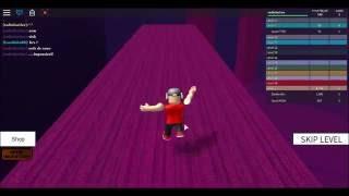 1° video jogando roblox speed run!
