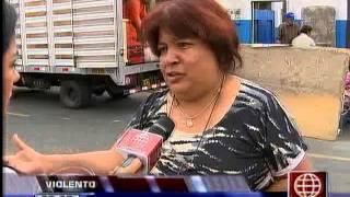 América Noticias: San Miguel: violento desalojo terminó con catorce familias en la calle