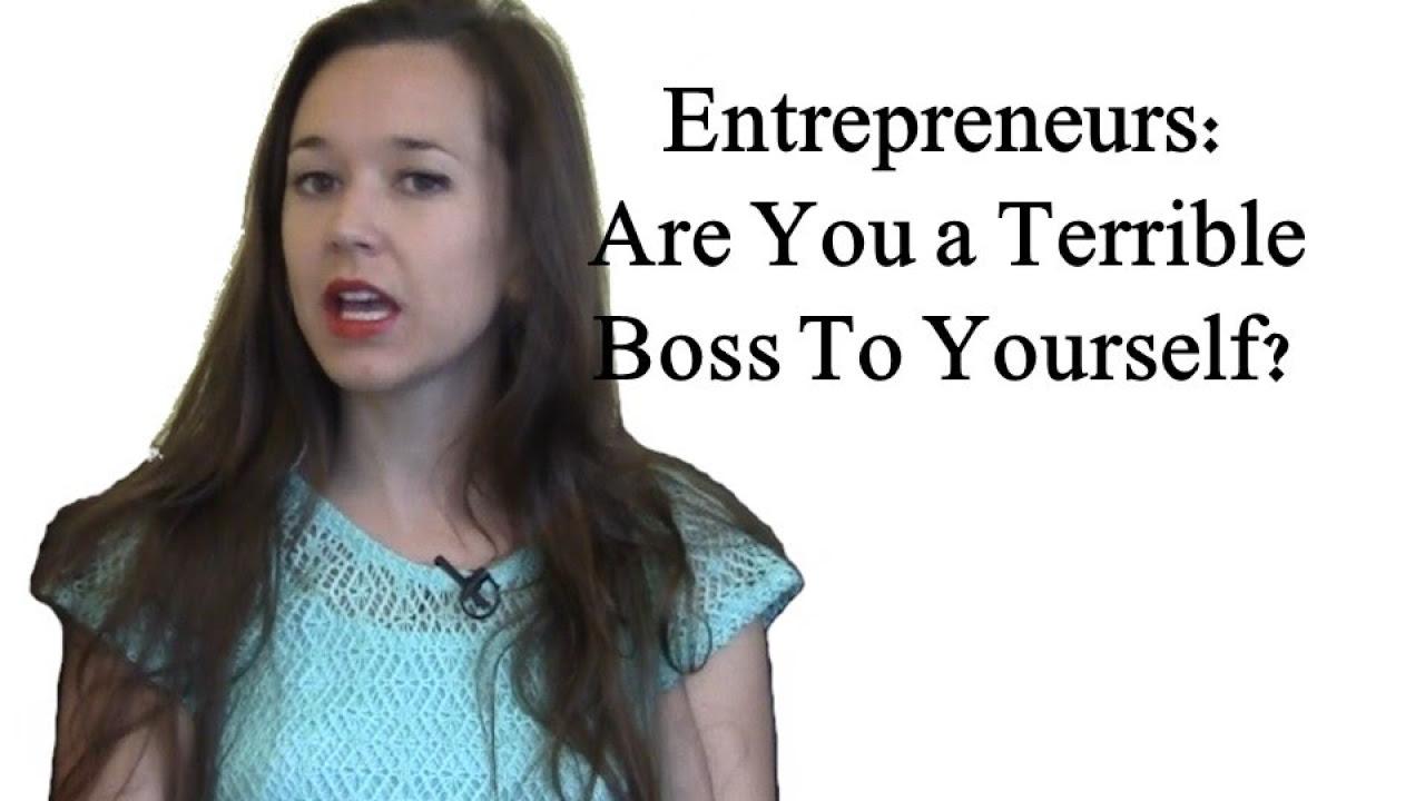 entrepreneurs don t be your own dick boss