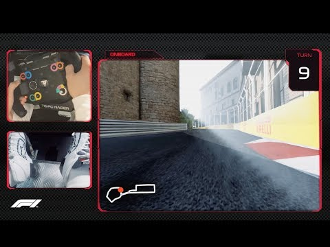 Lance Stroll's Virtual Hot Lap of Baku | 2018 Azerbaijan Grand Prix