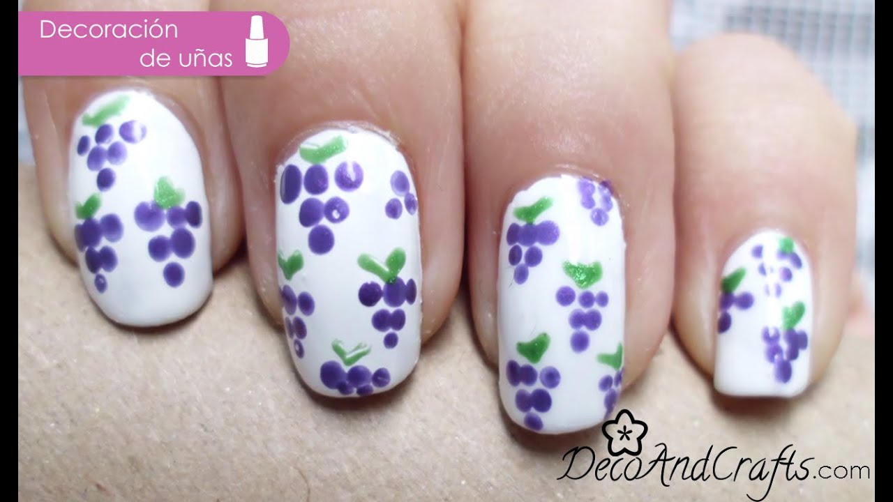 U as decoradas con puntos easy nail art with dots youtube - Unas decoradas con esmalte ...