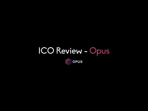 ICO Review - Opus (Music Streaming on the Blockchain)
