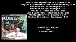 Stan Kenton - Wagner (1964) (Vinyl-Rip) (Full Album)