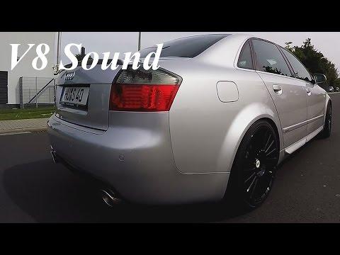 Audi S4 B6 Brutal V8 Sound + Accelerations + Drivebys + Onboard Autobahn [0-200+ km/h]
