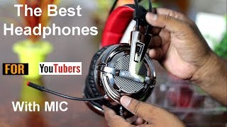 The Best & Premium Quality Headphone with Mic for You tubers !
