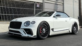 Craziest Bentley GTC Mansory RDB Wheels $400k Build