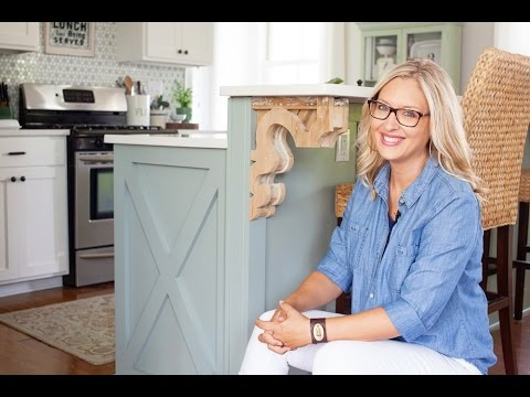 The Lettered Cottage: Layla's Cottage Style Kitchen