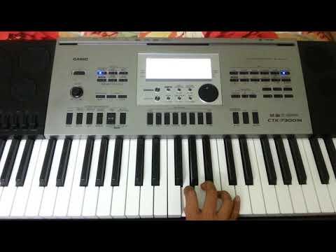 Santhu Straight Forward Song On Keyboard