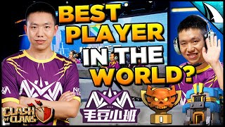 *Best Player in the World?* Wei Goes Perfect 7 for 7 in Champs I | Clash of Clans