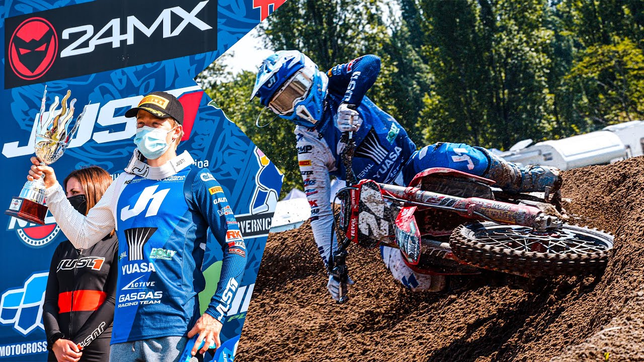 back in action with two podiums in a row - Kevin MX