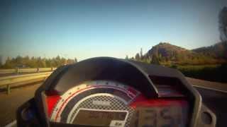 Um xtreet II 2013  135km/h GOPRO HERO