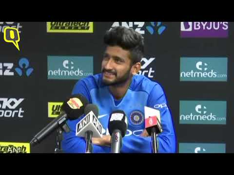 2nd T20I: Khaleel Ahmed on India's Win in Auckland   The Quint