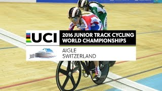 Day 4 - 2016 UCI Junior Track Cycling World Championships