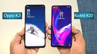 Oppo K3 vs Redmi K20 SpeedTest & Camera Test