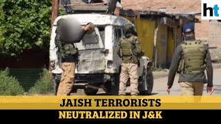 Security forces gun down 3 Jaish-e-Mohammed terrorists in J&K's Pulwama
