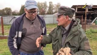 Охота с собакой, постройка норы для притравки на лис и енотовидных собак